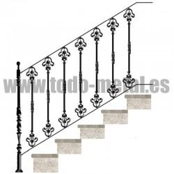 Diseños fundición -  Barandillas escaleras